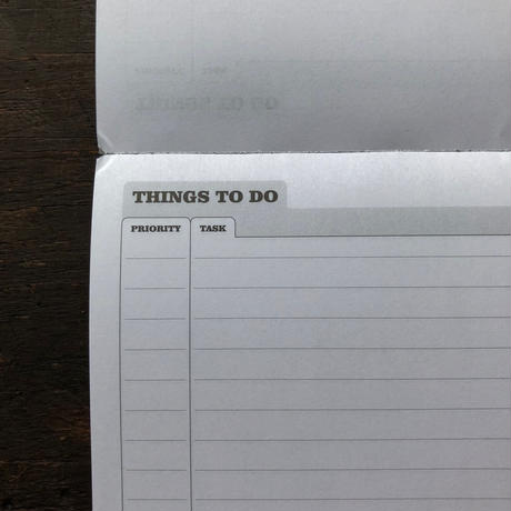 SILVEINE TO-DO LIST