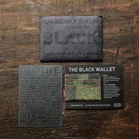 HOLSTEE Black Wallet