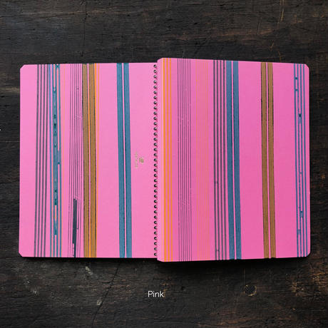 Wheel Printed Notebook