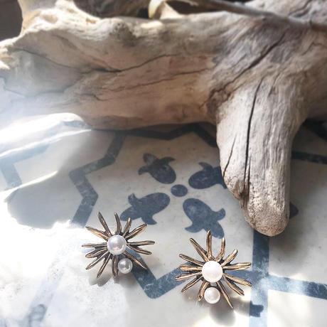 brass & pearl pierce