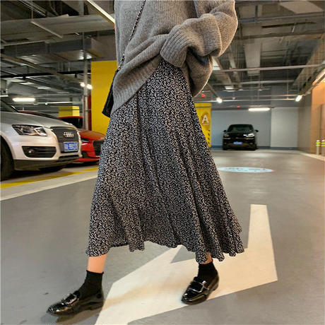 旬アイテム 総柄フレア ロングスカート セール デート カジュアル マキシスカート ロング マキシスカート シフォンスカート フレアスカート ロング丈スカート 総柄 フレア TAGX11637