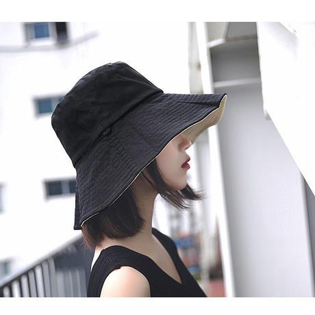 日焼け対策 つば広帽子 リバーシブル ファッション小物 帽子 つば広 ハット リゾート ビーチ UVカット 女優帽 レディース帽子 ストローハット 紫外線 UV対策 送料無料 TAGX11664