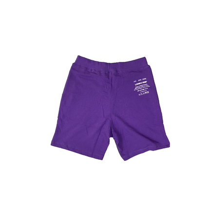 #19LONELY論理 LONELY UNIV SWEAT SHORTS