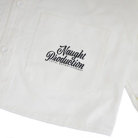 Naught Production SIMPLE LOGO COVERALL JACKET