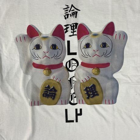 #19LONELY論理 MANEKI CATS TEE