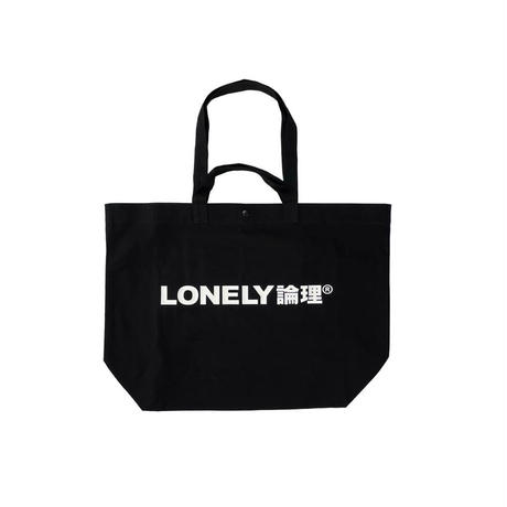 #18 LONELY論理 ICON LOGO 2WAY BIG CANVAS TOTE
