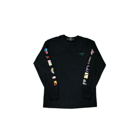 LONELY論理 FAKE SPONCERED LONG SLEEVE