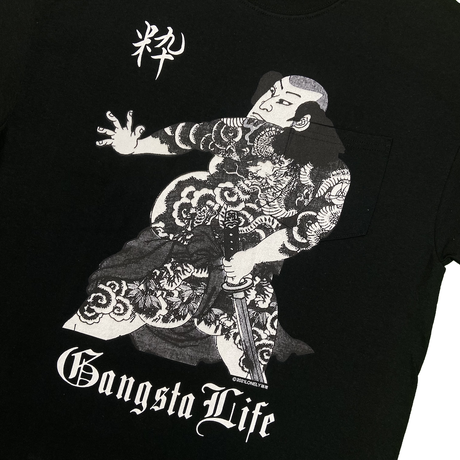 LONELY論理#20 GANGSTA LIFE PK T-SHIRTS