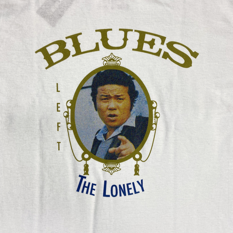 #19LONELY論理 LEFT BLUES TEE