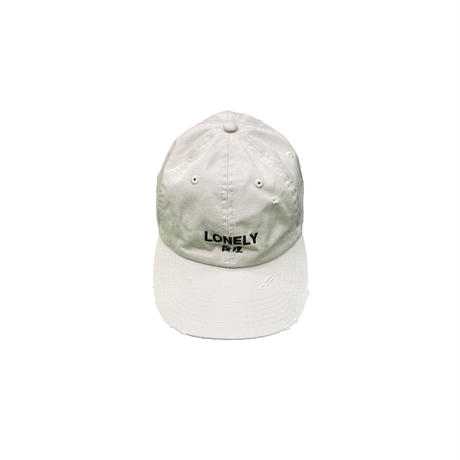 LONELY論理#20 COTTON DAMAGED CLASSIC LOGO CAP