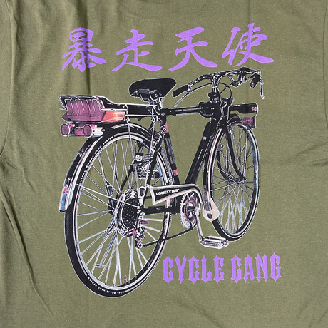 #19LONELY論理 CYCLE GANG TEE