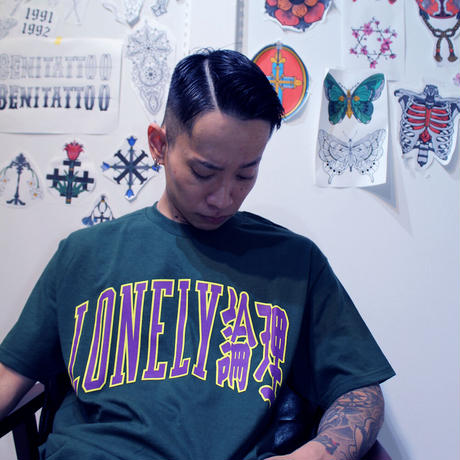 #19LONELY論理 LONELY UNIV TEE