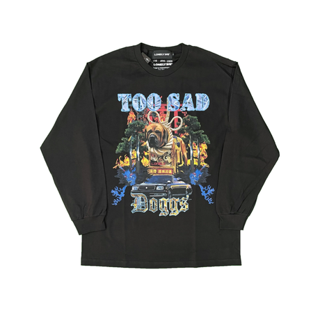 #18 LONELY論理 TOO SAD DOGGS LONG SLEEVE