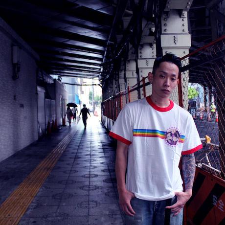 #19LONELY論理 RAINBOW SEX TRIM TEE