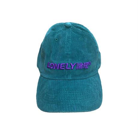 LONELY論理 LOGO CORDUROY CAP