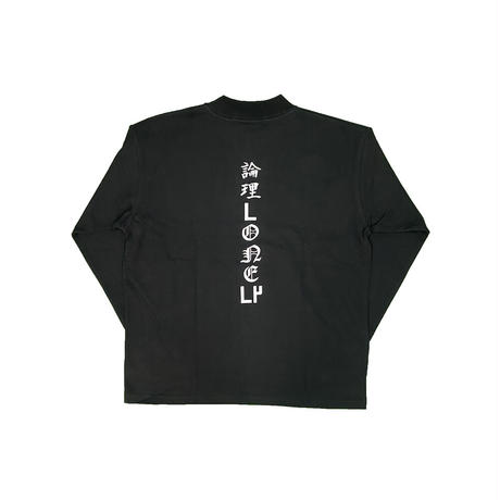 LONELY論理#20 BF JAPONISM MOC NECK LONG SLEEVE