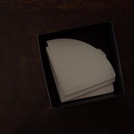 Hario V60 用 ペーパーフィルター  1~2杯用 ホワイト 100枚入り