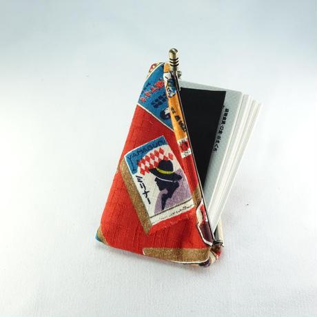 名刺カードケース マッチ箱赤