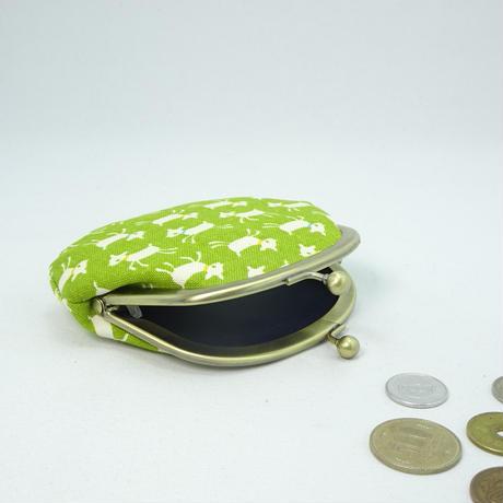 3.3寸丸小銭入れ やぎ 緑