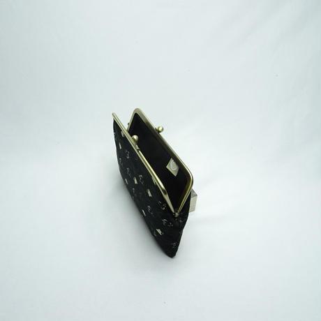 5.5寸平型 流水に千鳥 黒
