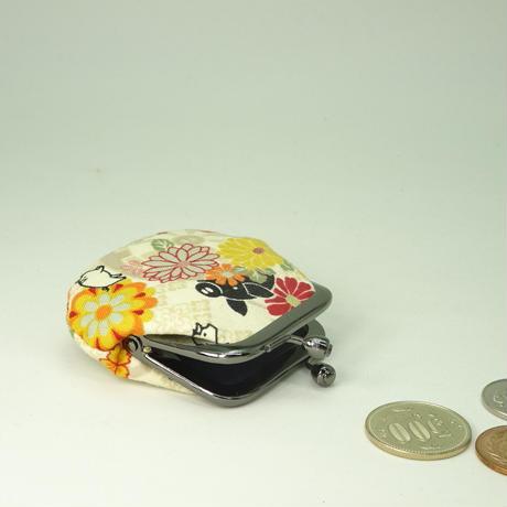 1.8寸豆小銭入れ  源氏ぶた オレンジ色
