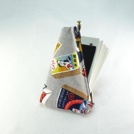名刺カードケース マッチ箱グレー