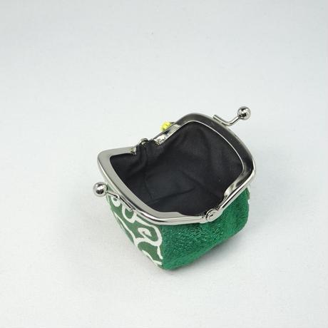 1.7寸四つはぎ(鈴付き) 唐草 緑