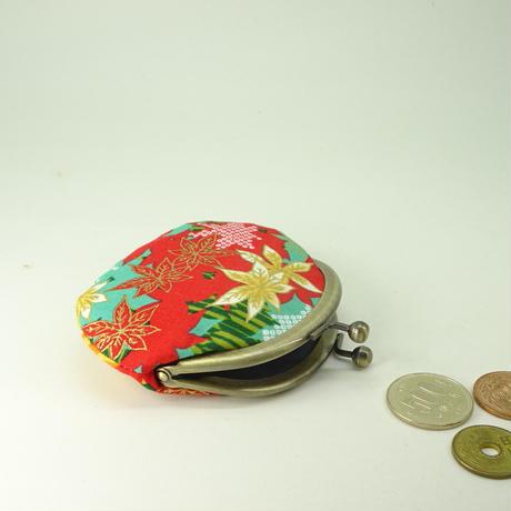 2.6寸丸小銭入れ 紅葉