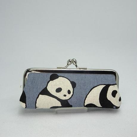 3.8寸印鑑ケース(朱肉付き)パンダ