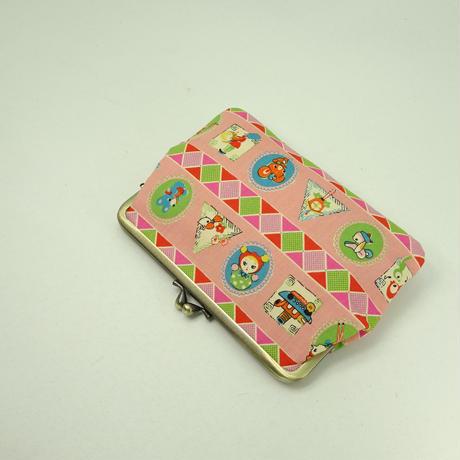 5.5寸平型 レトロ ピンク色
