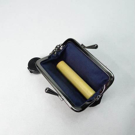 2.5寸印鑑ケース(朱肉付き)富士山 黄色