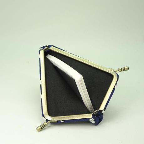 名刺カードケース パンダ 紺色