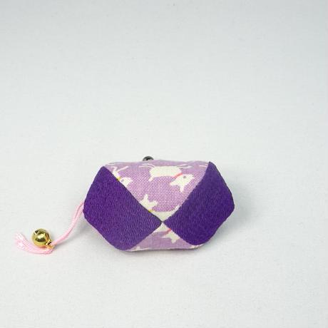 1.7寸四つはぎ(鈴付き) やぎ 紫