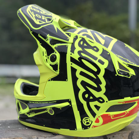 Troy Lee Designs / D3 FIBERLITE / FACTORY FlowYellow / L