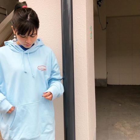 GOOD VIBESパーカー(ライトブルー)【long-200038~40】