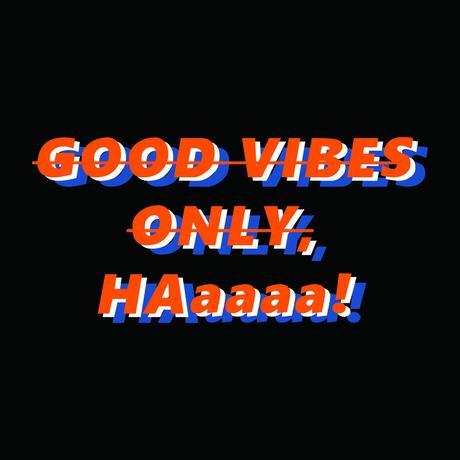 GOOD VIBESパーカー(ブラック)【long-200035~37】