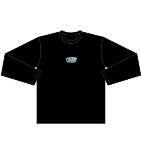 ロゴ ロンT(黒)【long-200016~18】