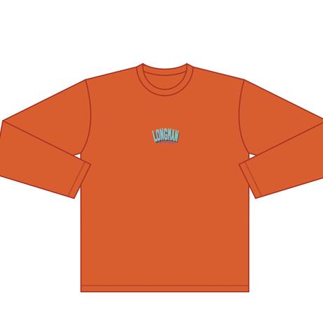 ロゴ ロンT(オレンジ)【long-200013~15】