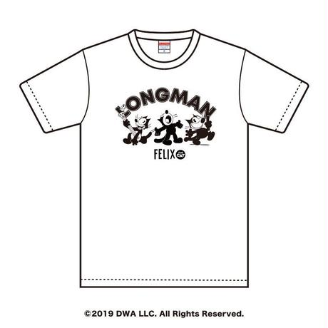 FELIX THE CAT×LONGMAN Tシャツ(白)