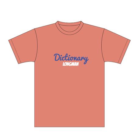 ディクショナリーTシャツ(オレンジ)【long-190030~33】