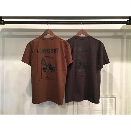 "【 LONG SET × SCUMBOY 】LSD-033 ""SHIT REAPER"" S/S T-SHIRT ( 全7色展開 )"