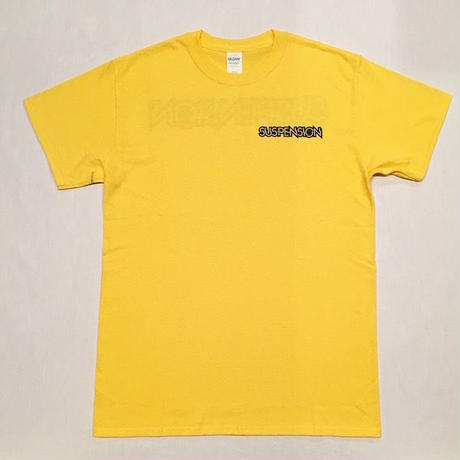 "【 tr.4 suspension 】SUSPENSION "" WILLIAM LOGO "" S/S TEE ( YELLOW )"