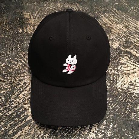 "【 tr.4 suspension 】""kikkouchan"" CAP ( BLACK )"