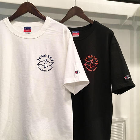 "【 LONG SET ORIGINAL 】LSD-028 ""LOGO"" S/S T-SHIRT ( 全2色展開 )"