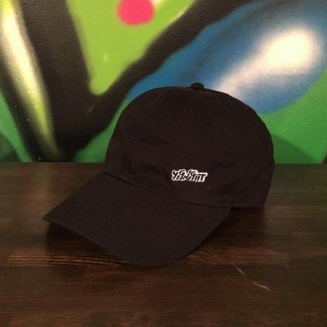 【 YIGNIGHT 】MINI LOGO CAP (BLACK)