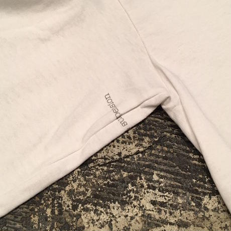 "【 tr.4 suspension 】""VULTURE"" L/S TEE ( WHITE )"