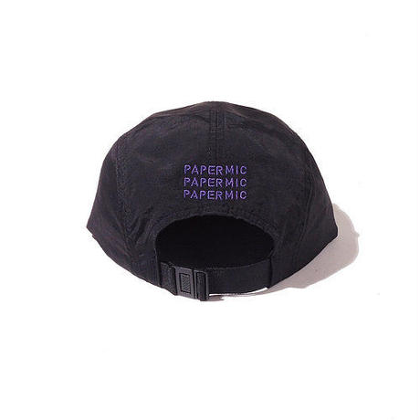 【 PAPERMIC 】CAMP CAP ( BLACK )