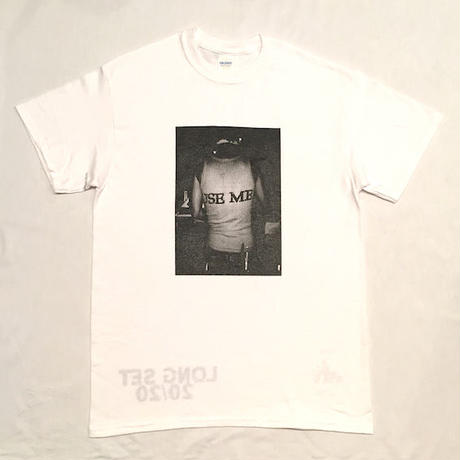 "【 tr.4 suspension 】suspension music ""Monthly publication mmj vol.4"" S/S PHOTO TEE ( WHITE )"