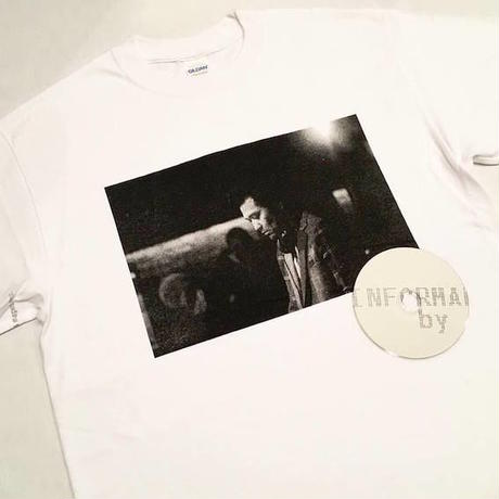 "【 tr.4 suspension 】suspension music ""Monthly publication mmj vol.2"" S/S PHOTO TEE ( WHITE )"