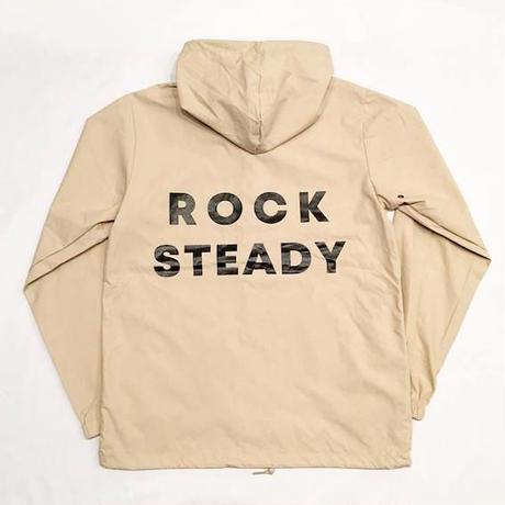 """【 tr.4 suspension 】""""ROCK STEADY"""" HOODED WINDBREAKER ( KHAKI )"""